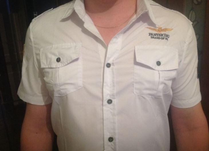 Покупка мужской рубашки